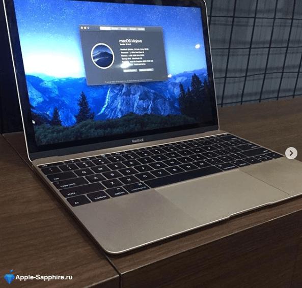 Замена SSD Macbook