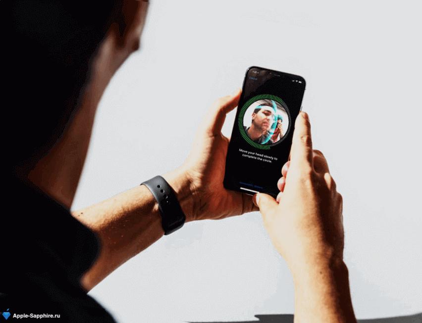 Разблокировка Face iD iPhone