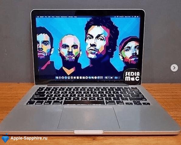 Черный экран MacBookAir