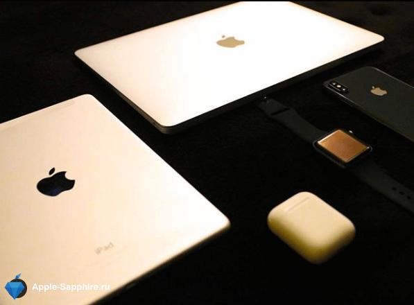 Треснул экран на Macbook Air