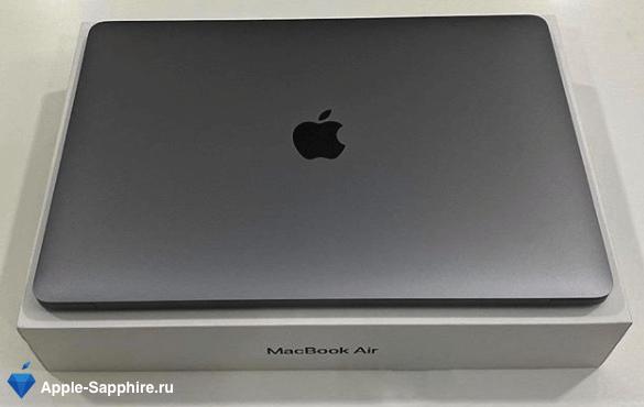Синий экран MacBook Pro