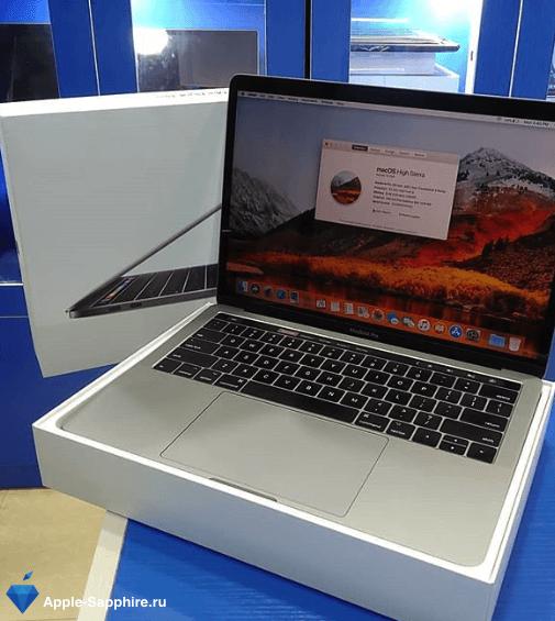 Выключается MacBook Pro Retina