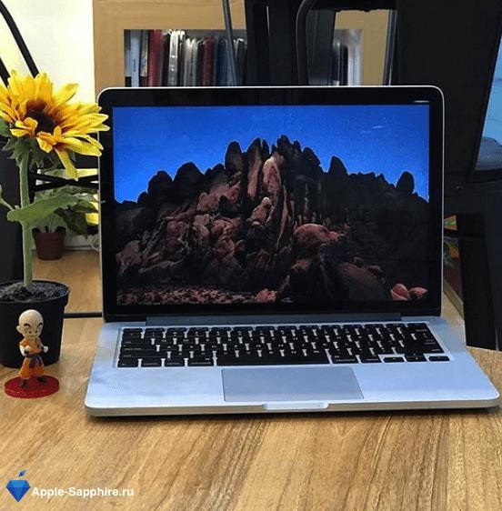 Пищит MacBook Pro Retina