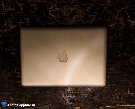 Полосы на экране MacBook Pro Retina