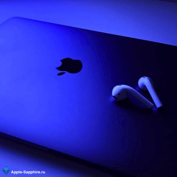 Выключается MacBook Retina