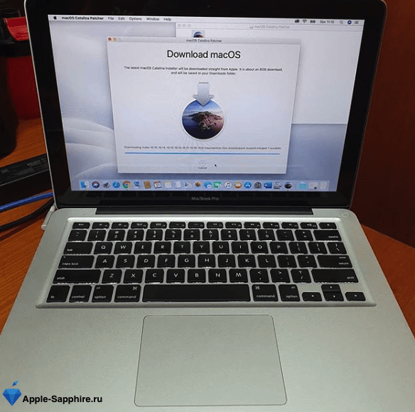 Замена видеочипа MacBook Pro Retina