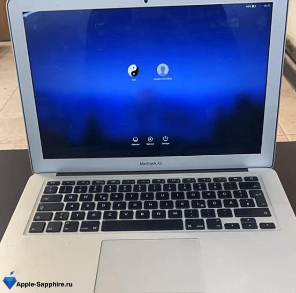 Замена термопасты MacBook Pro Retina