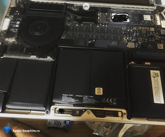 Восстановление данных MacBook Pro Retina