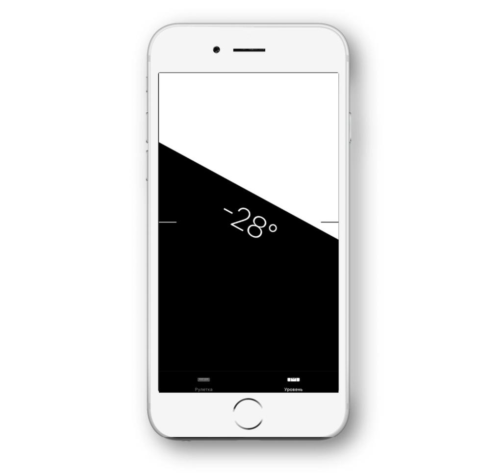 Строительный уровень iPhone