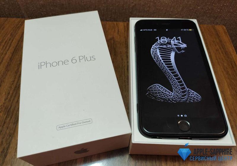 Чистка камеры iPhone 6 Plus