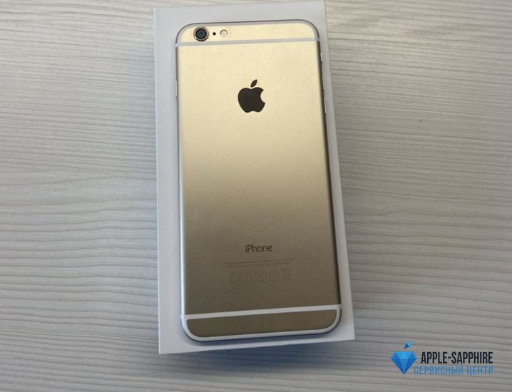 Чистка материнской платы iPhone 6 Plus в УЗВ