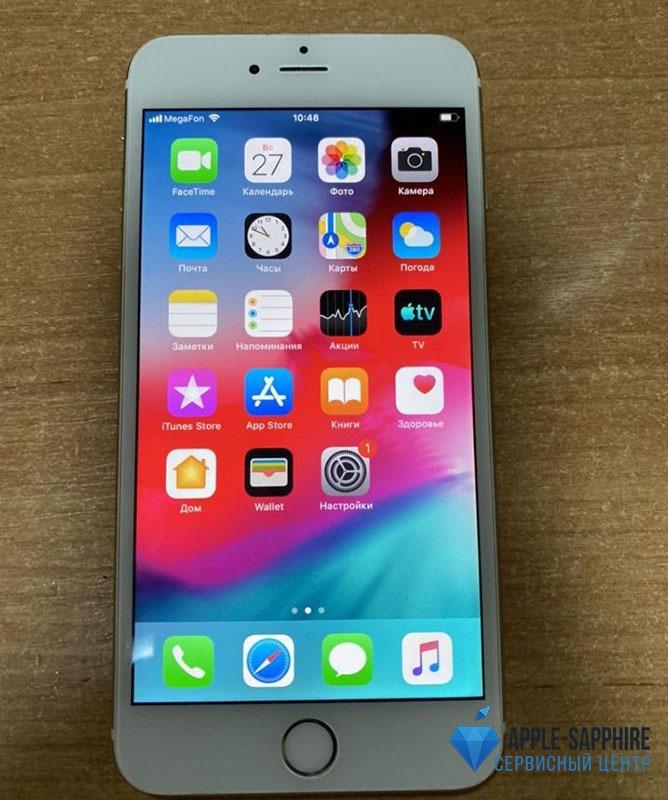 Греется iPhone 6 Plus