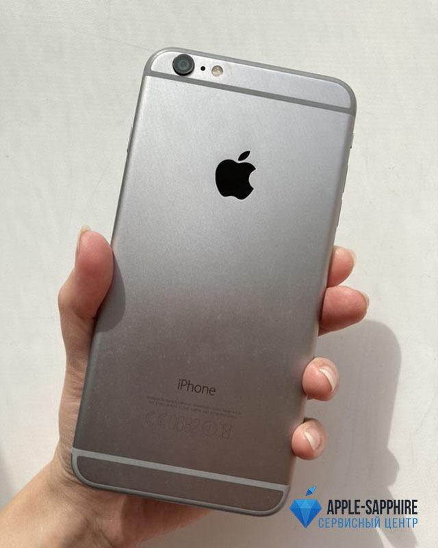 Полосы, засветы на экране iPhone 6 Plus
