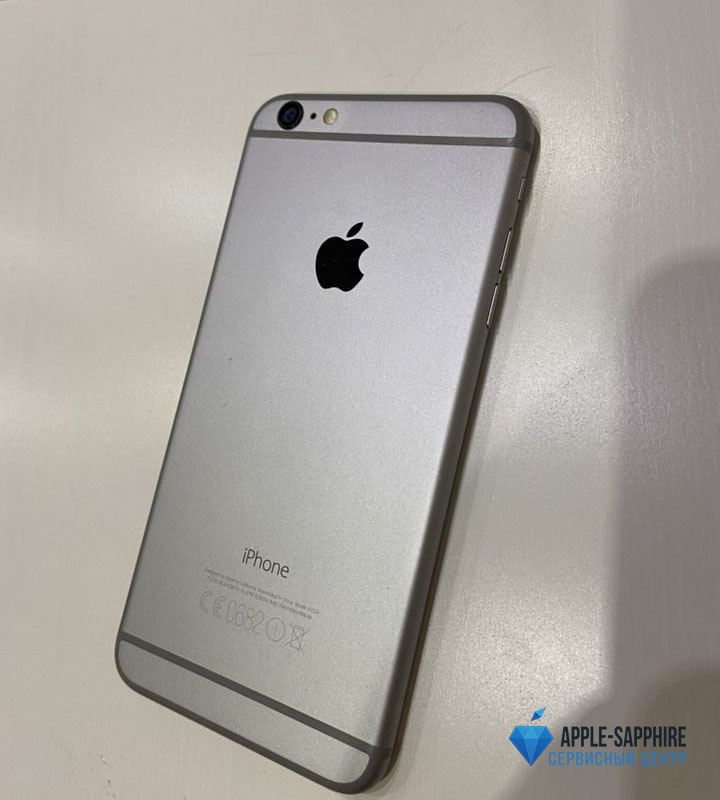 Замена и выпрямление корпуса iPhone 6 Plus