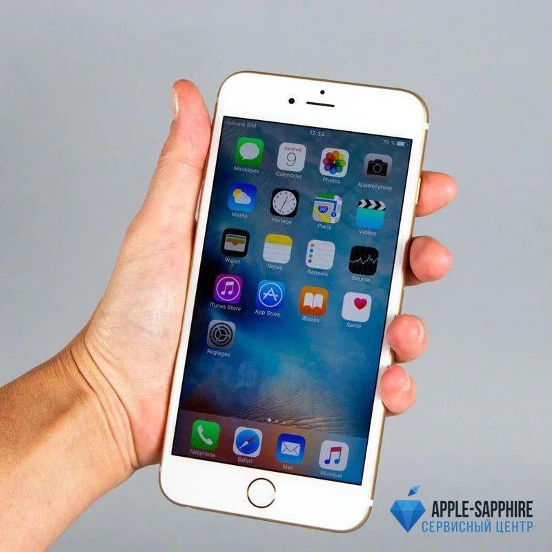 Замена микросхемы Wi-Fi на iPhone 6 Plus