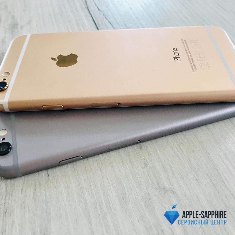 Замена аккумулятора на iPhone 6