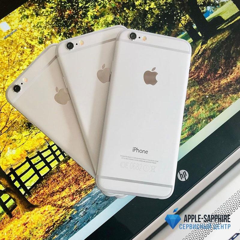 Ремонт залитого iPhone 6