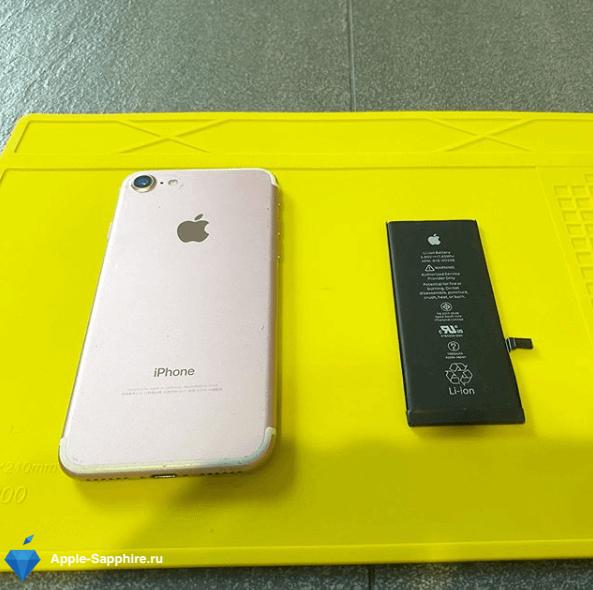 Ремонт залитого iPhone 6s