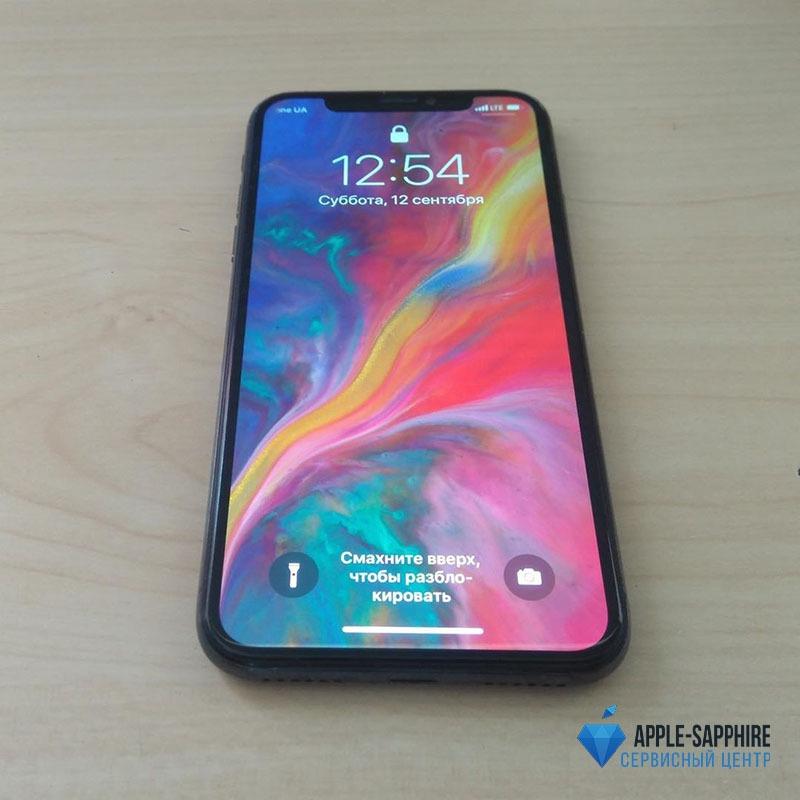 Замена фронтальной камеры iPhone X