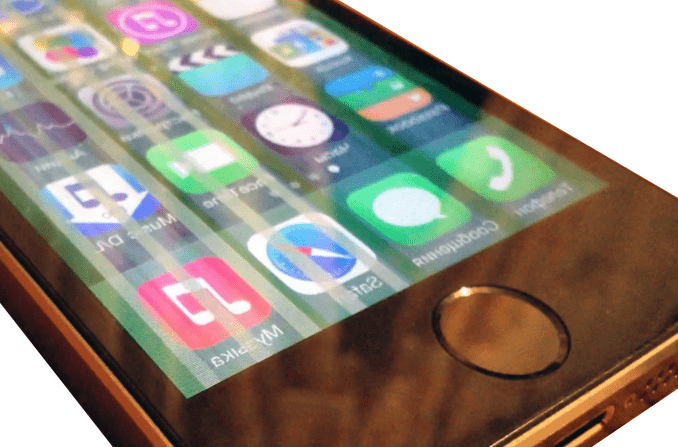 Как сделать поля на на айфоне