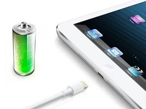 Быстро разряжается iPad (Айпад)