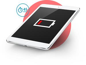 Быстро разряжается батарея iPad (Айпад)